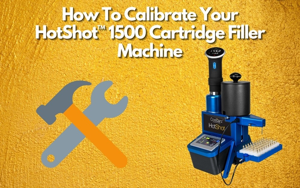 How To Calibrate Your HotShot™ 1500 Cartridge Filler Machine