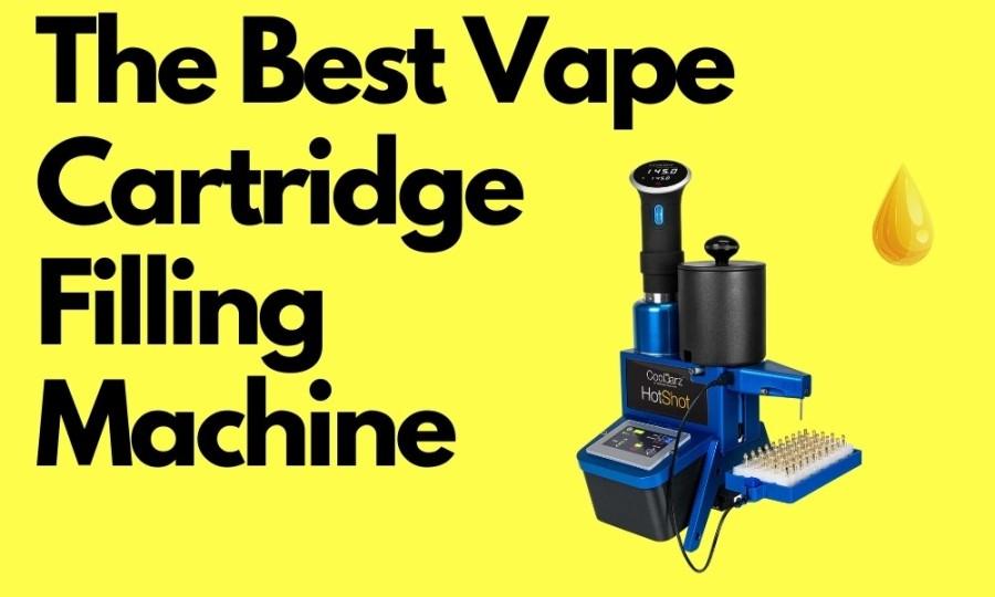 The Best Vape Cartridge Filling Machine
