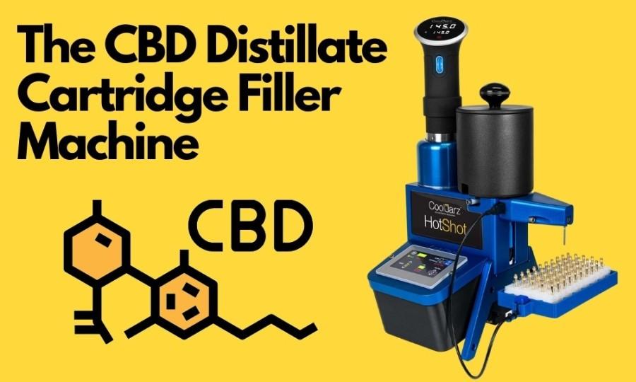 The CBD Distillate Cartridge Filler Machine