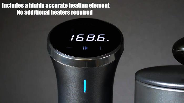 Anova-heat-source temperature for distillate