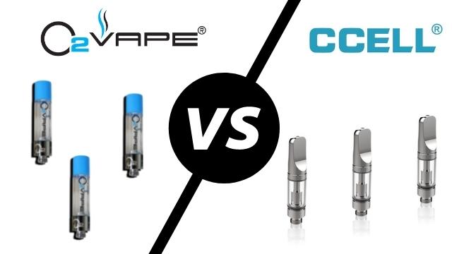 ccell versus o2 vape