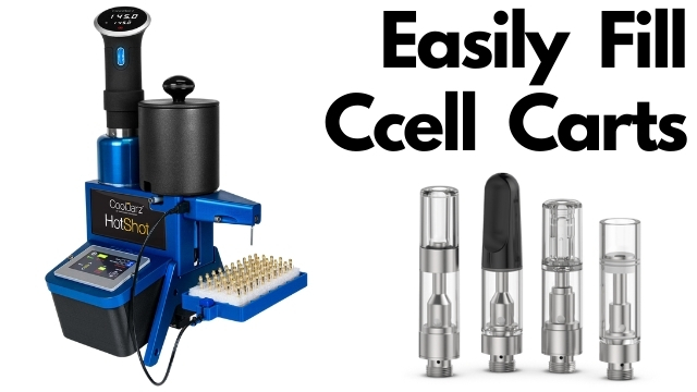 easily fill ccell cartridges