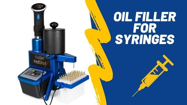 oil filler for syringes