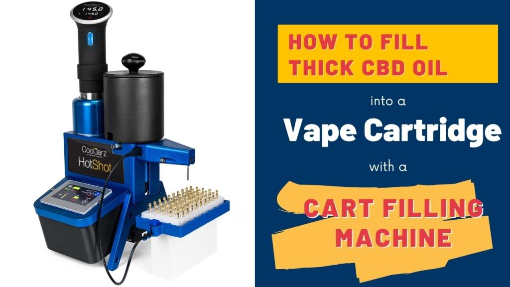 thick cbd oil vape cartridge filling machine